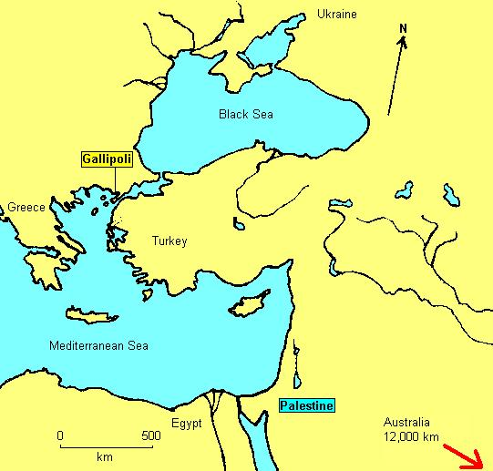 Location map of gallipoli and palestine location of gallipoli and palestine gumiabroncs