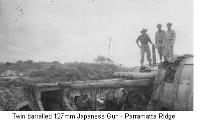 127mm Jap Gun - Parramatta Ridge
