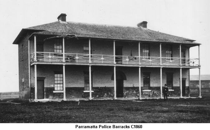 Parramatta Police Barracks