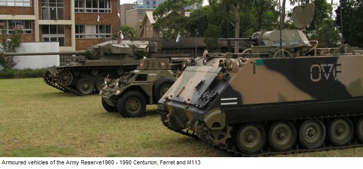 Reserve Armoured Vehicles