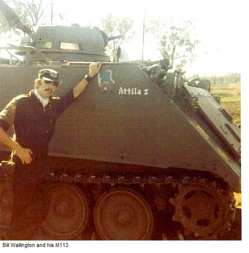 Bill Wallington and his M113