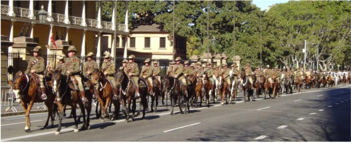 The Light Horse Rides Again - Reserve Forces Day 2004