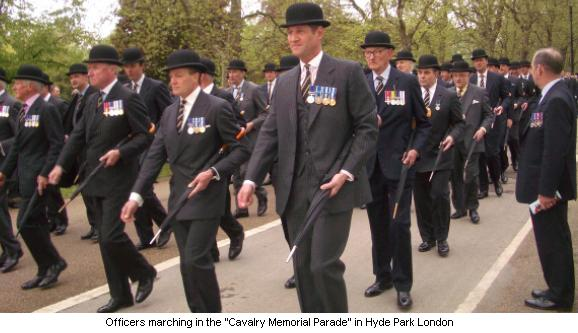 Cavalry Memorial Parade London