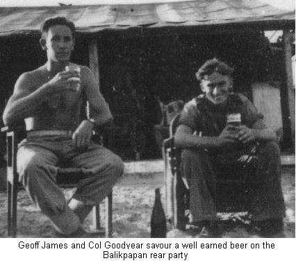 A beer at the end of the war