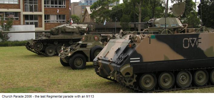 Last Parade with an M113