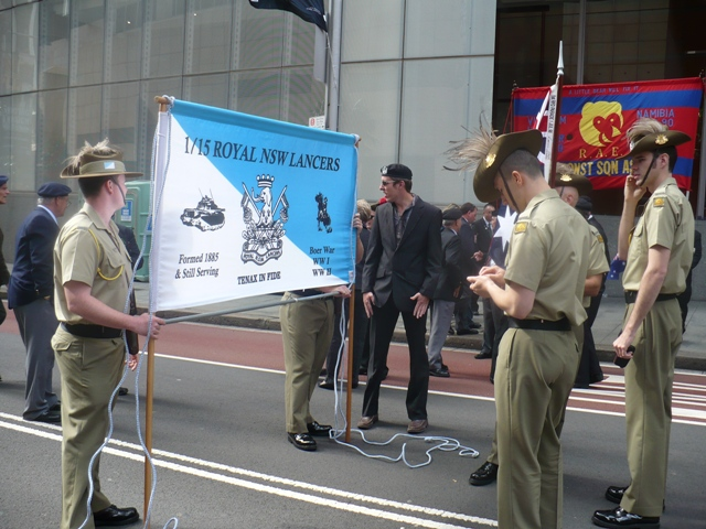 Regimental Banner Party