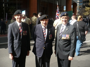 Lancers and a ring-in ANZAC Day 2009