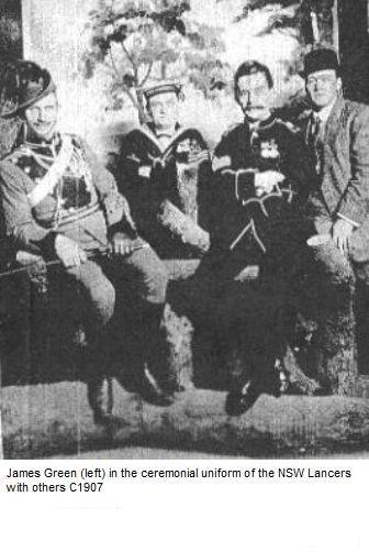 James Green with others C1907