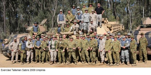Exercise Talisman Sabre 2009 Umpire group