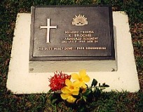 Trooper Broome's grave