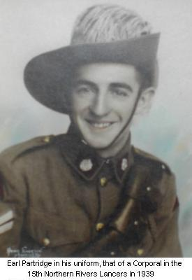 Earl Partridge in uniform 1939