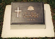 Trooper Richardson's Grave