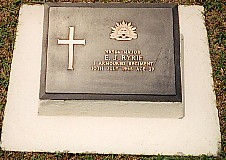 Major Ryrie's grave