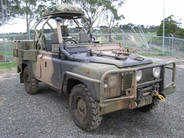 Light Cavalry Patrol Vehicle modifications